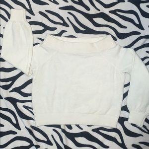 ‼️2/50.00 Divided Soft Cold Shoulder Sweater